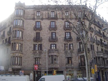 OBRA REALIZADA: GRAN VIA CORTS CATALANES 540 BARCELONA