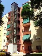 INSTALACION ASCENSORES: BARRIO COOPERATIVA, SAN BOI LLOBREGAT
