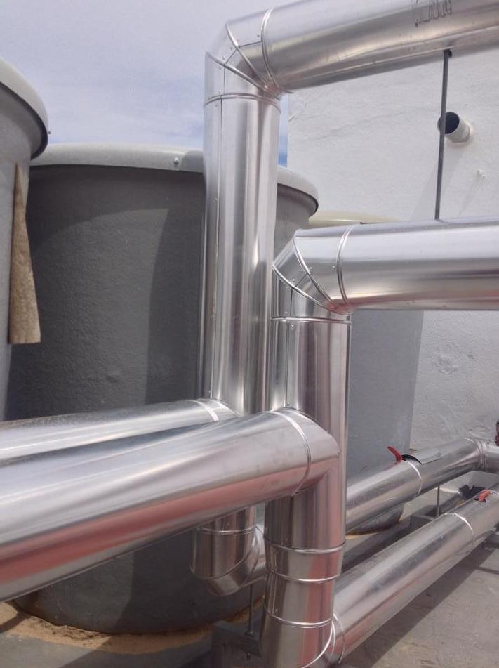 Recubrimiento de aluminio (CALORIFUGADOS)