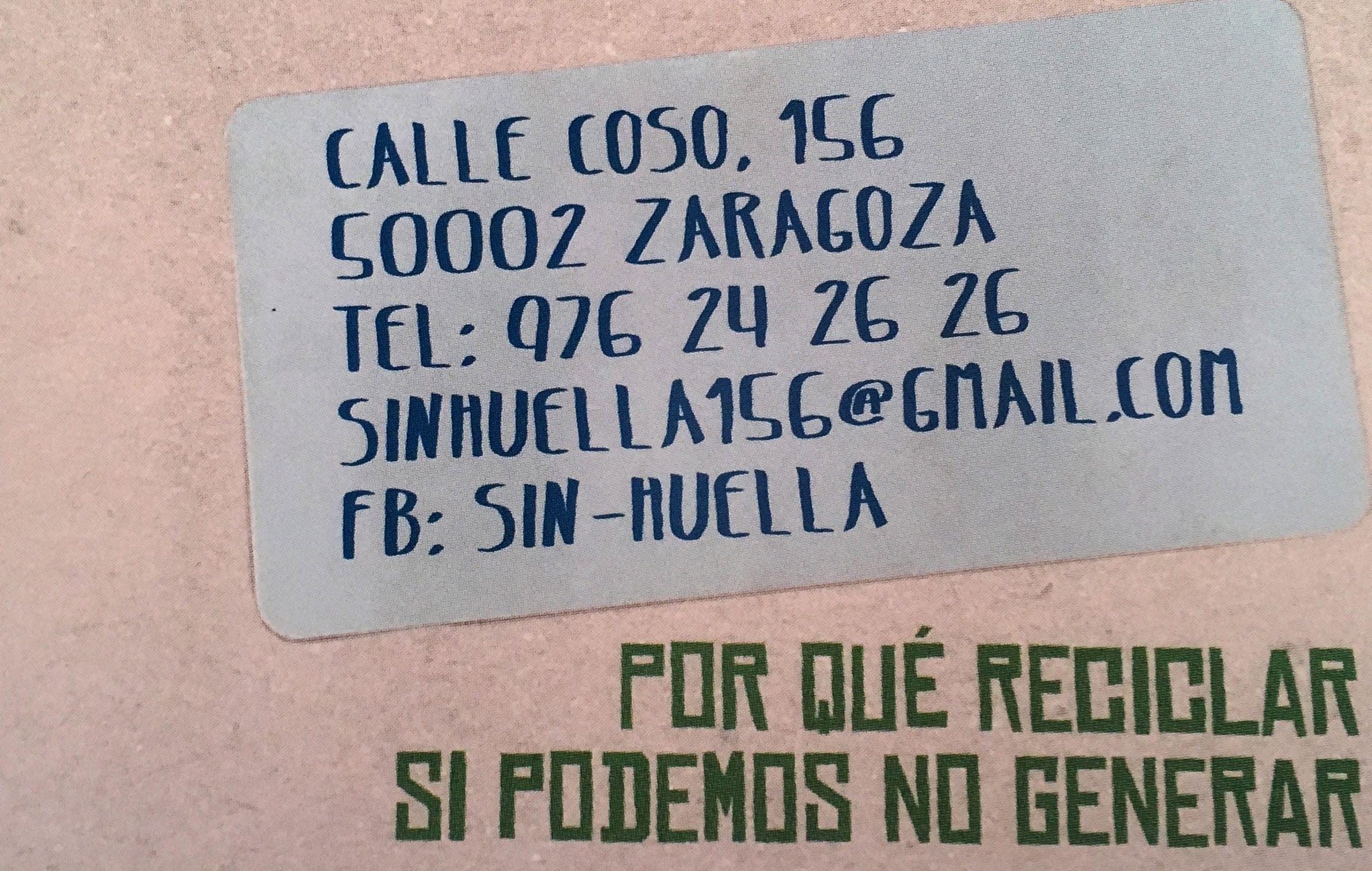 Foto 5 de Tienda de productos ecológicos a granel en Zaragoza | Sin Huella