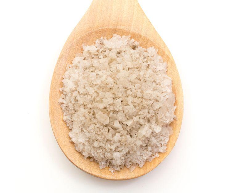 Pétalos de sal ahumados