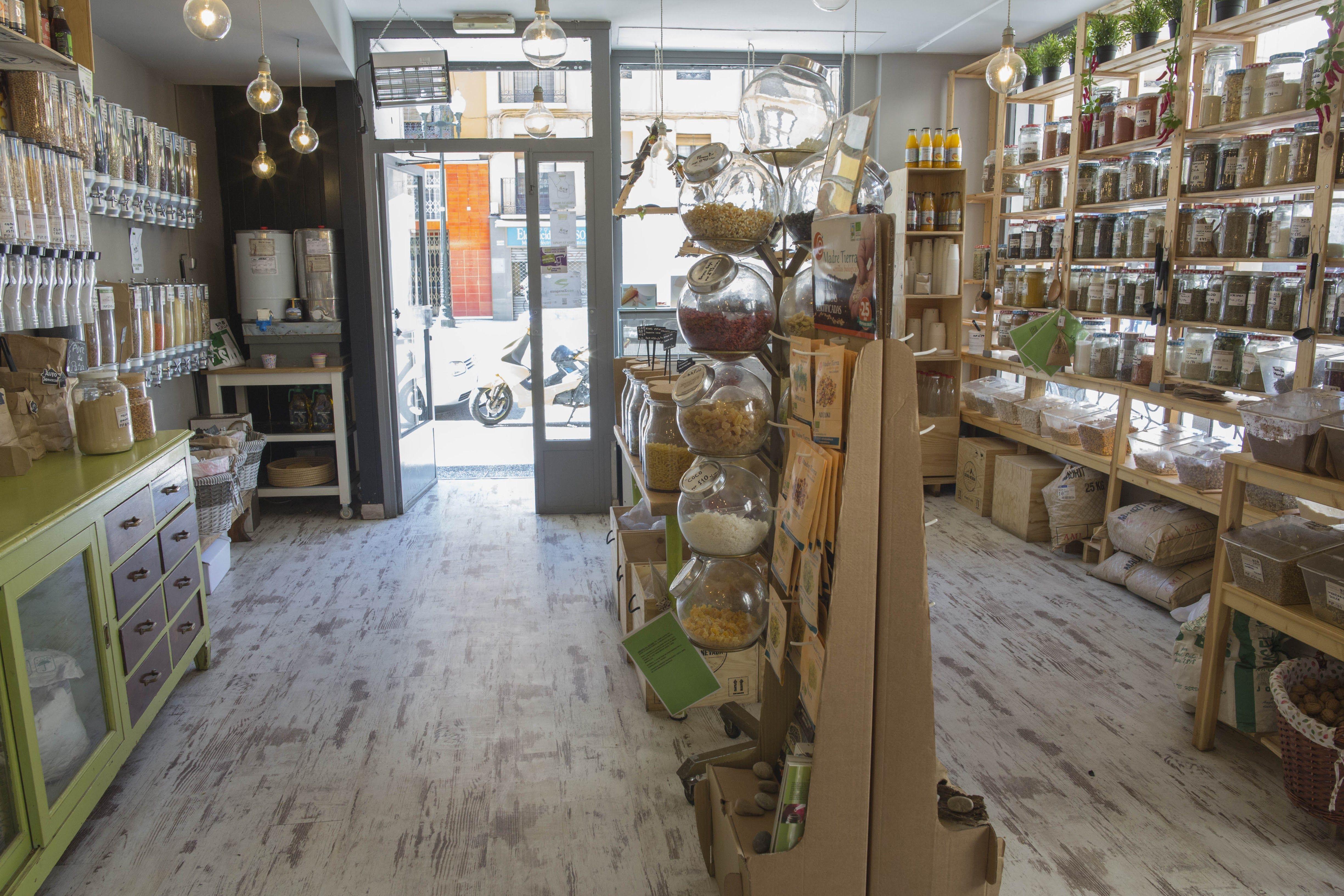 Foto 6 de Tienda de productos ecológicos a granel en Zaragoza | Sin Huella