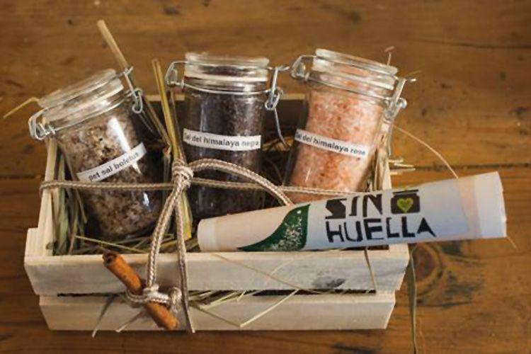Cajas con variedades de sales en Zaragoza