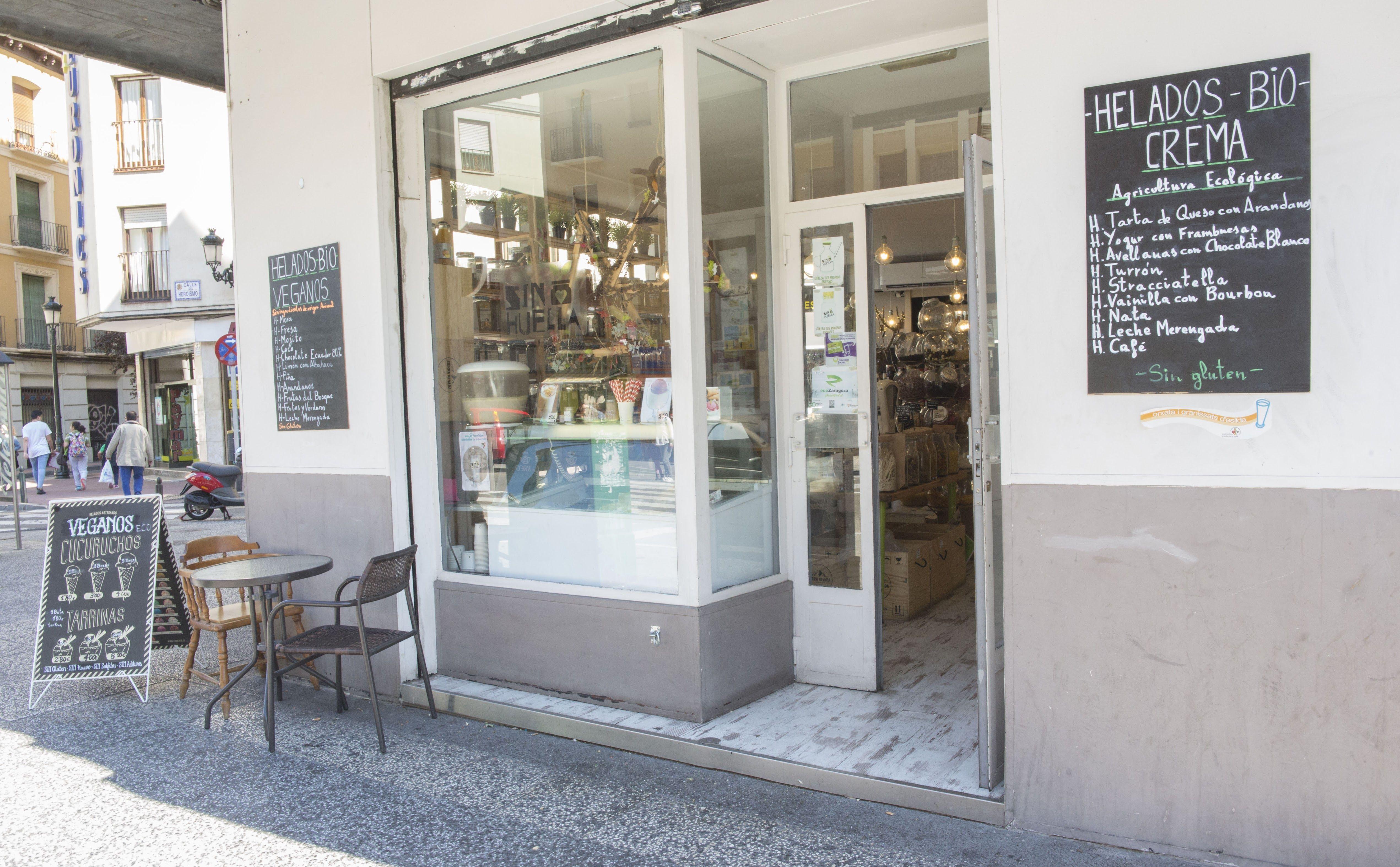 Foto 10 de Tienda de productos ecológicos a granel en Zaragoza | Sin Huella