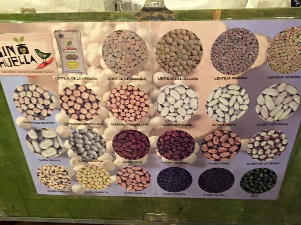 Legumbres: Productos de Sin Huella