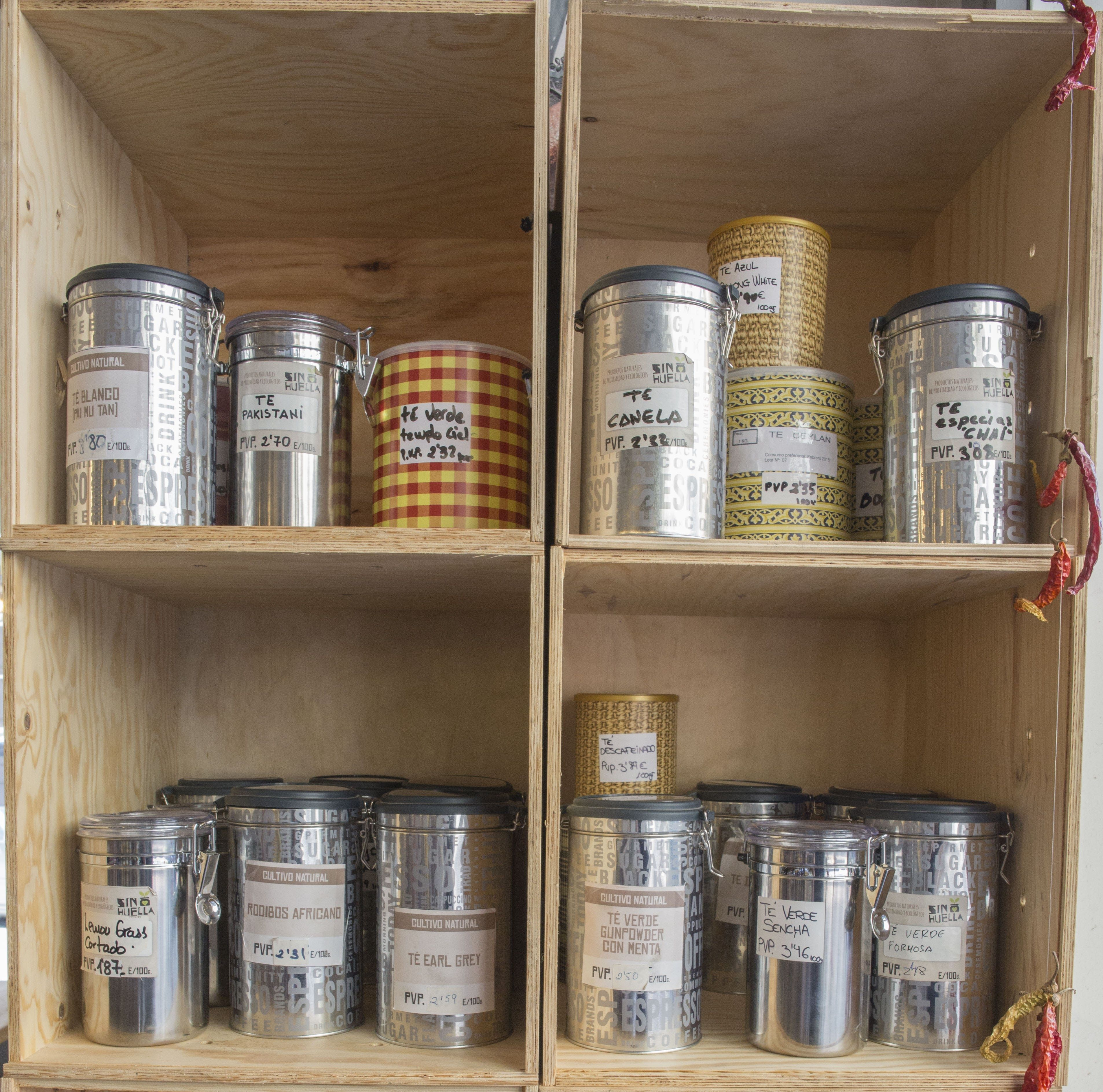 Foto 7 de Tienda de productos ecológicos a granel en Zaragoza | Sin Huella