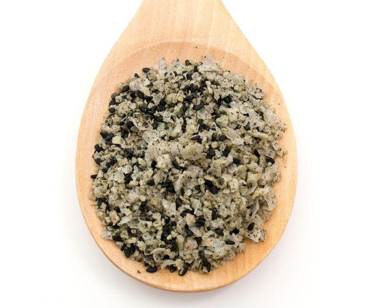 Flocon sal condimentada con wasabi