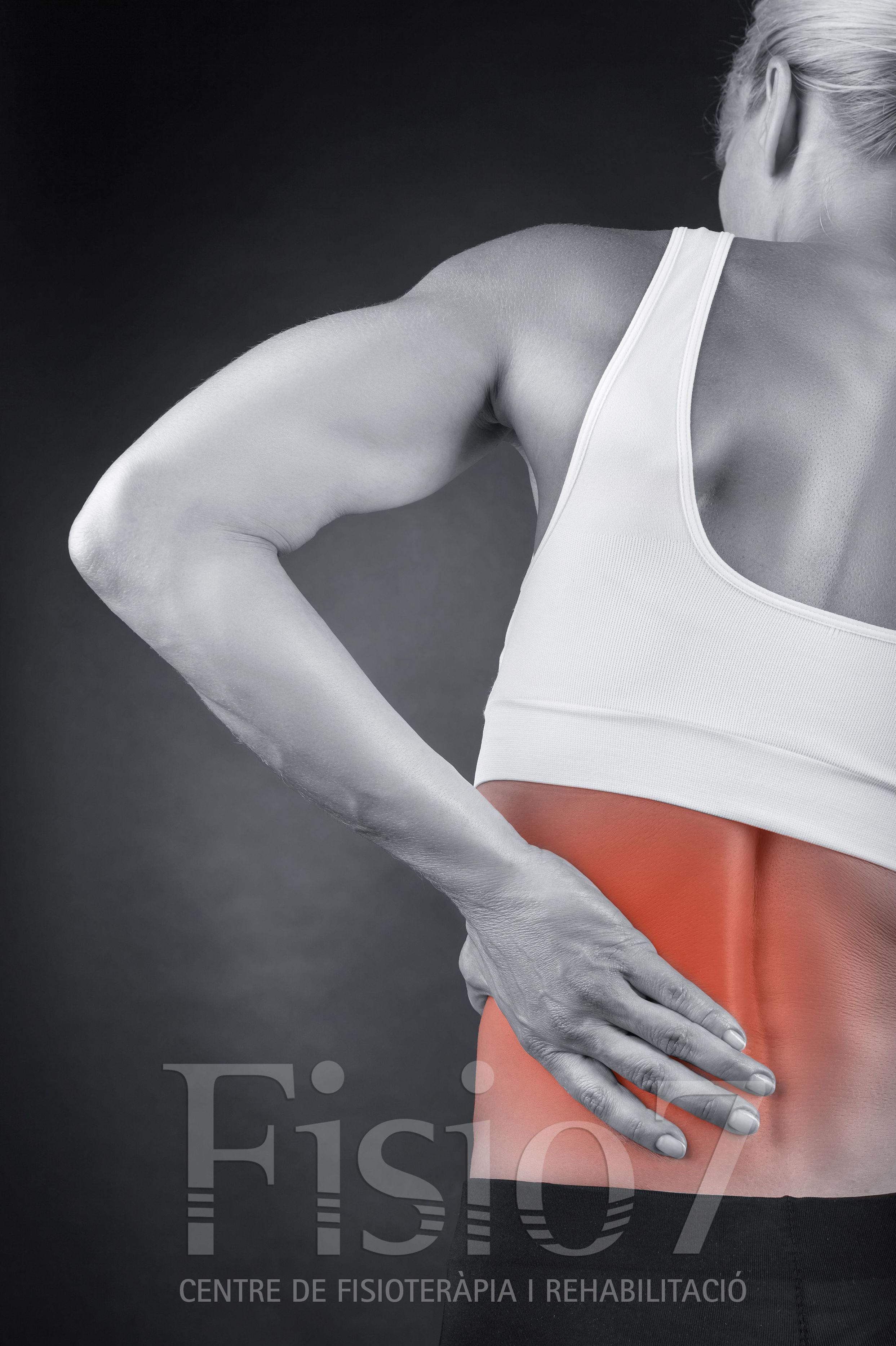 Masaje dolor de espalda Manresa