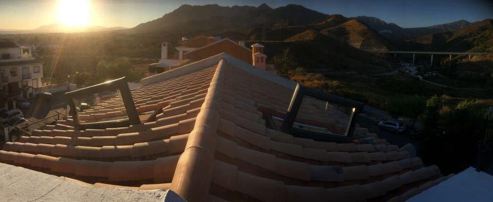 Ventanas en tejado