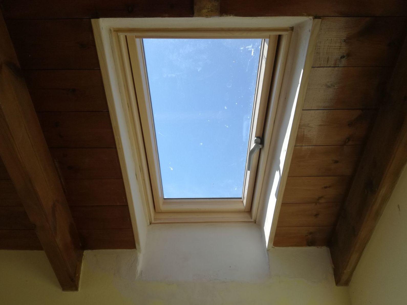 Ventana en tejado