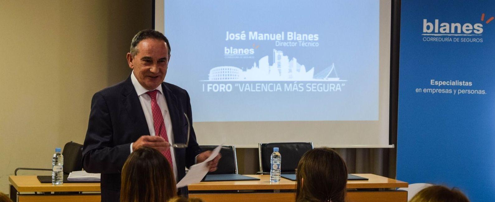 """Jose Manuel Blanes Beltrán en el Foro """" Valencia más segura"""" 24 de Mayo de 2018"""
