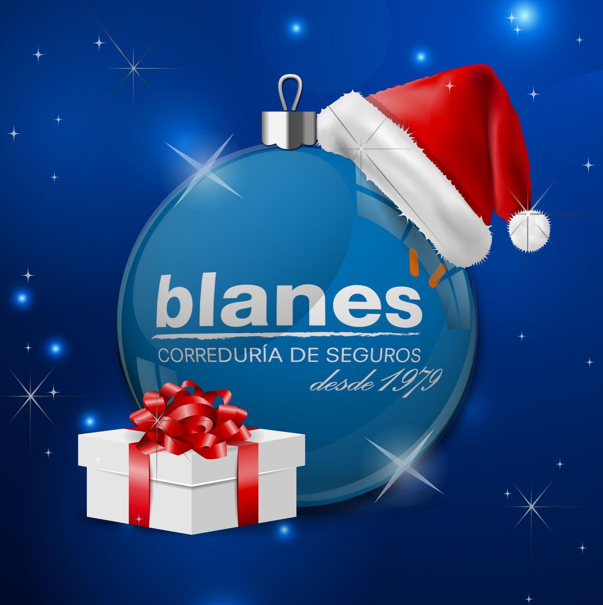 El equipo de Blanes Correduría de Seguros les desea felices fiestas #FelizNavidad