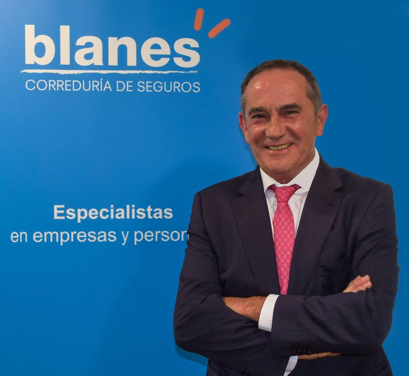 Jose Manuel Blanes Beltrán, Director Gerente de Blanes OTS Correduría de Seguros, S.L.