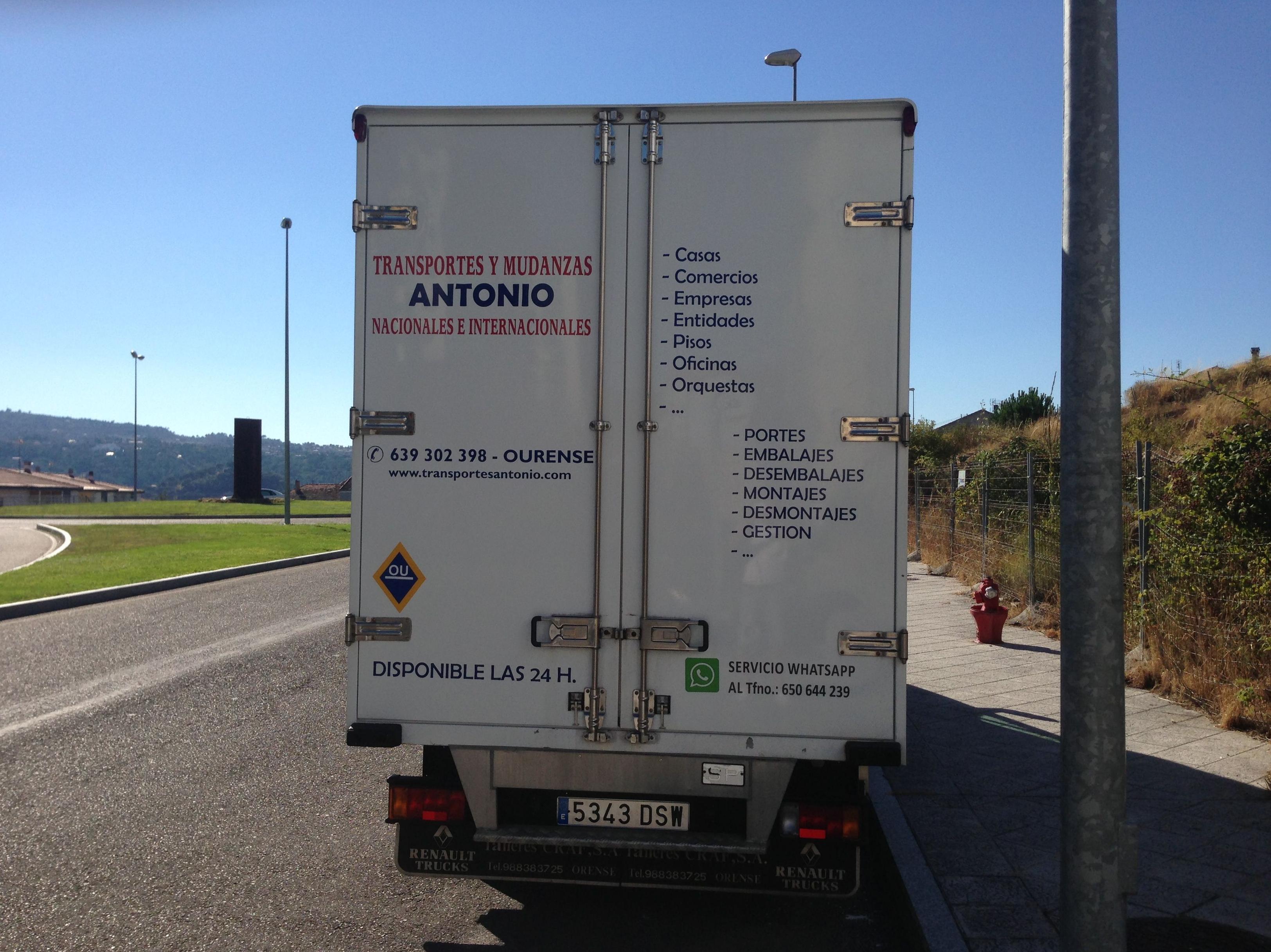 Foto 16 de Mudanzas y guardamuebles en Ourense | Transportes y Mudanzas Antonio