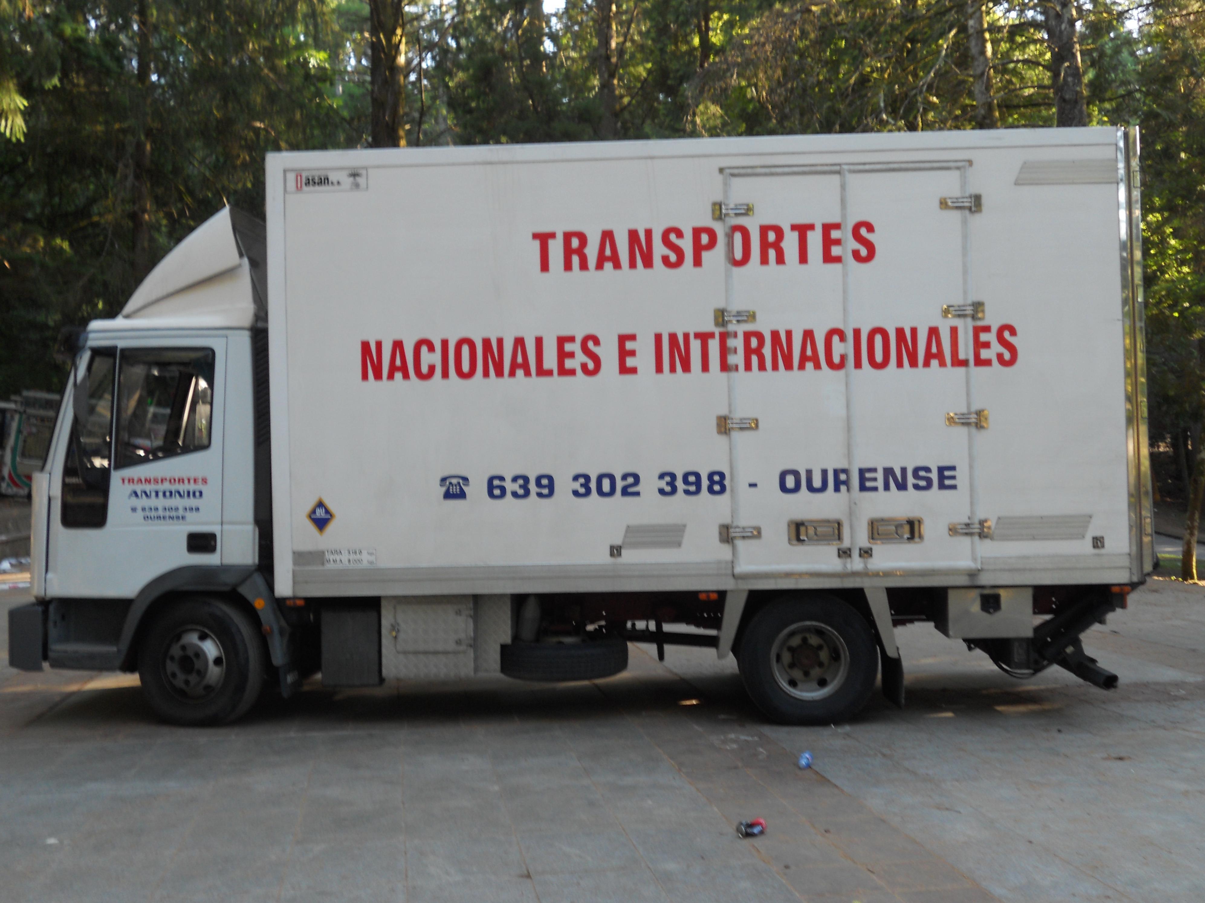 Foto 6 de Mudanzas y guardamuebles en Ourense | Transportes y Mudanzas Antonio