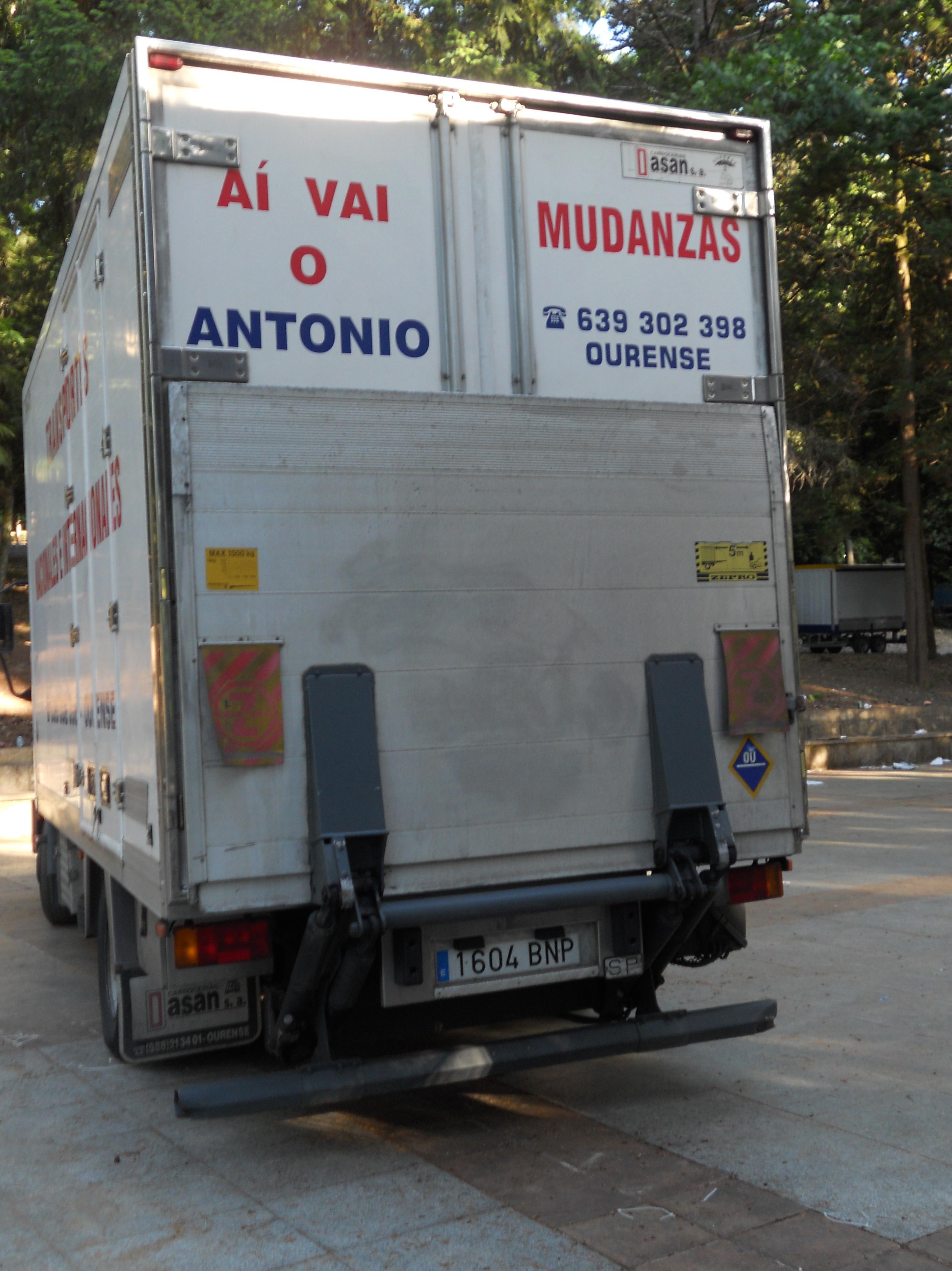 Foto 5 de Mudanzas y guardamuebles en Ourense | Transportes y Mudanzas Antonio