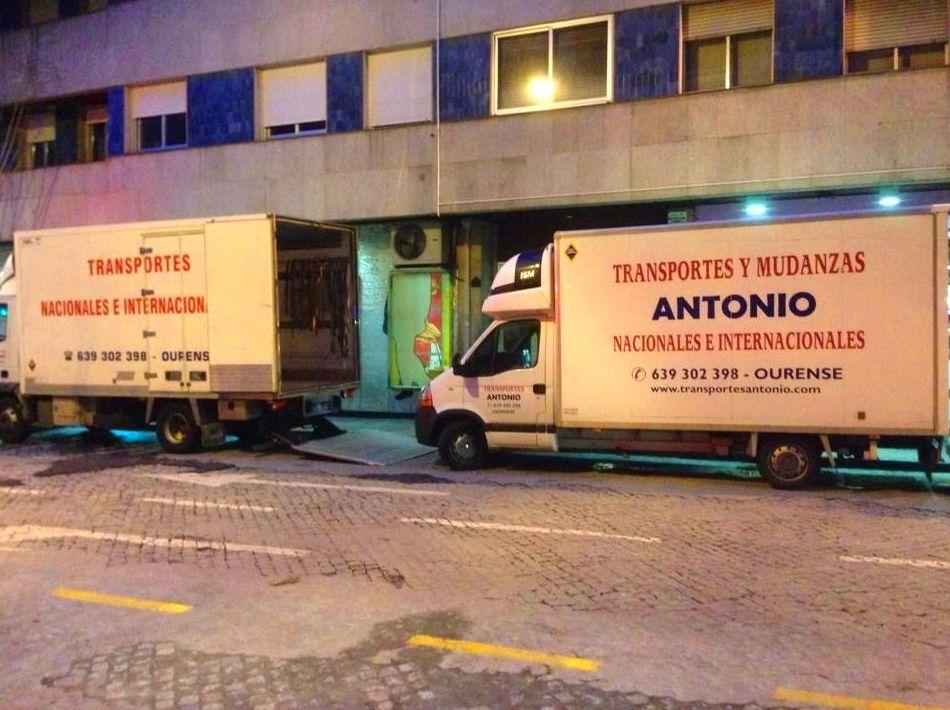 Foto 2 de Mudanzas y guardamuebles en Ourense | Transportes y Mudanzas Antonio
