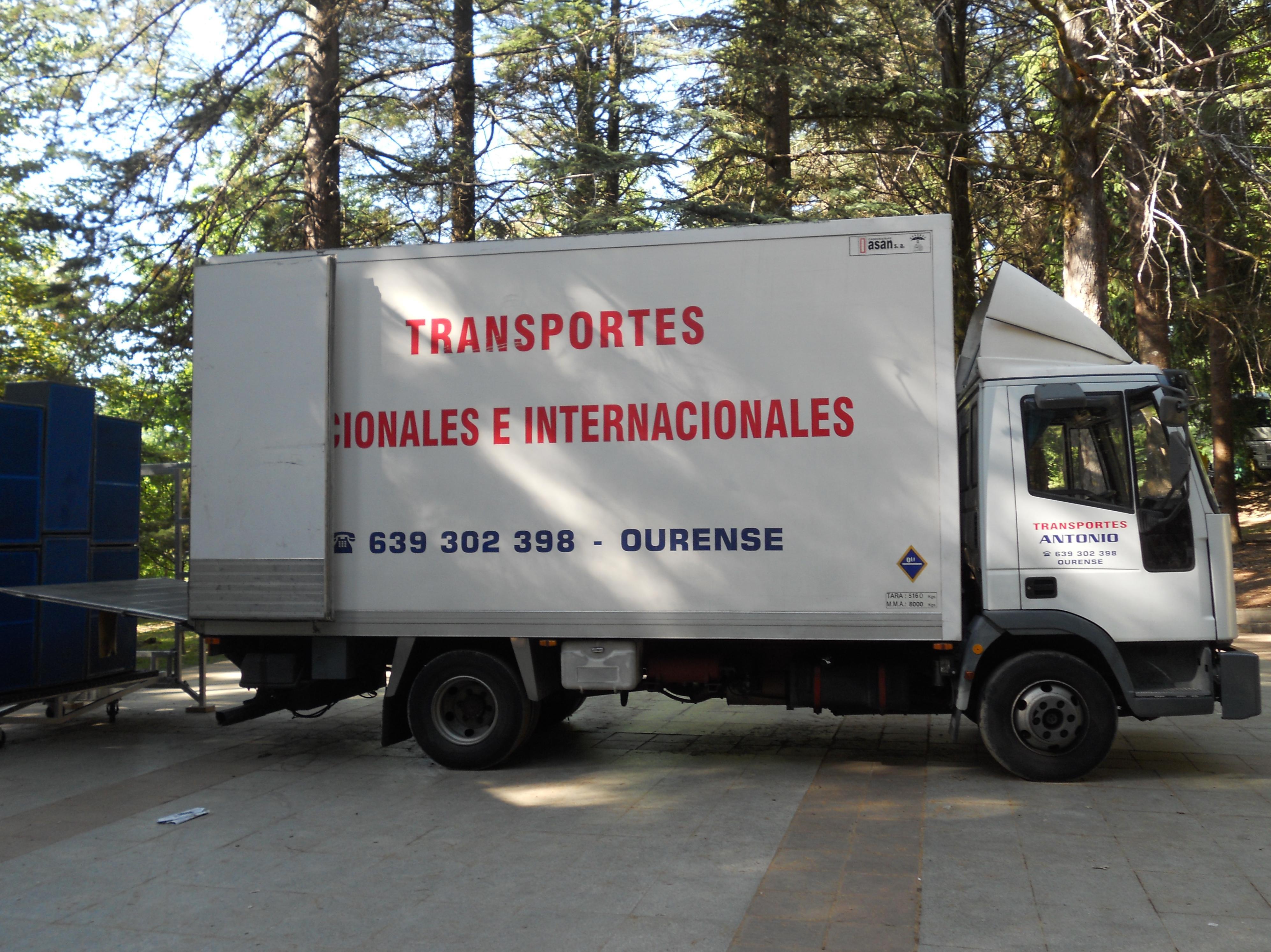 Foto 7 de Mudanzas y guardamuebles en Ourense | Transportes y Mudanzas Antonio