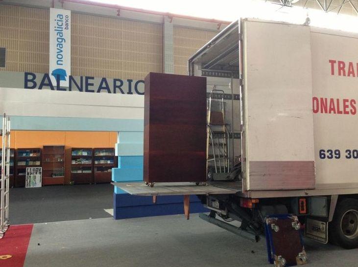 Montaje y desmontaje de muebles: Catálogo de Transportes y Mudanzas Antonio