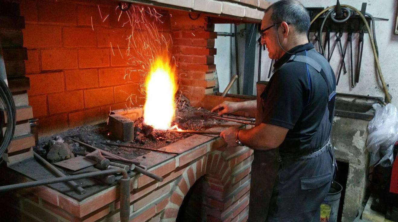 Artesanía en forja en Villafranca de los Barros