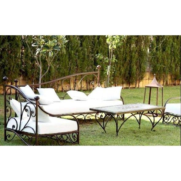 muebles de jardin en forja