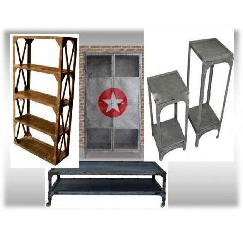 Muebles estilo vintage e industrial productos de for Muebles de estilo industrial barato