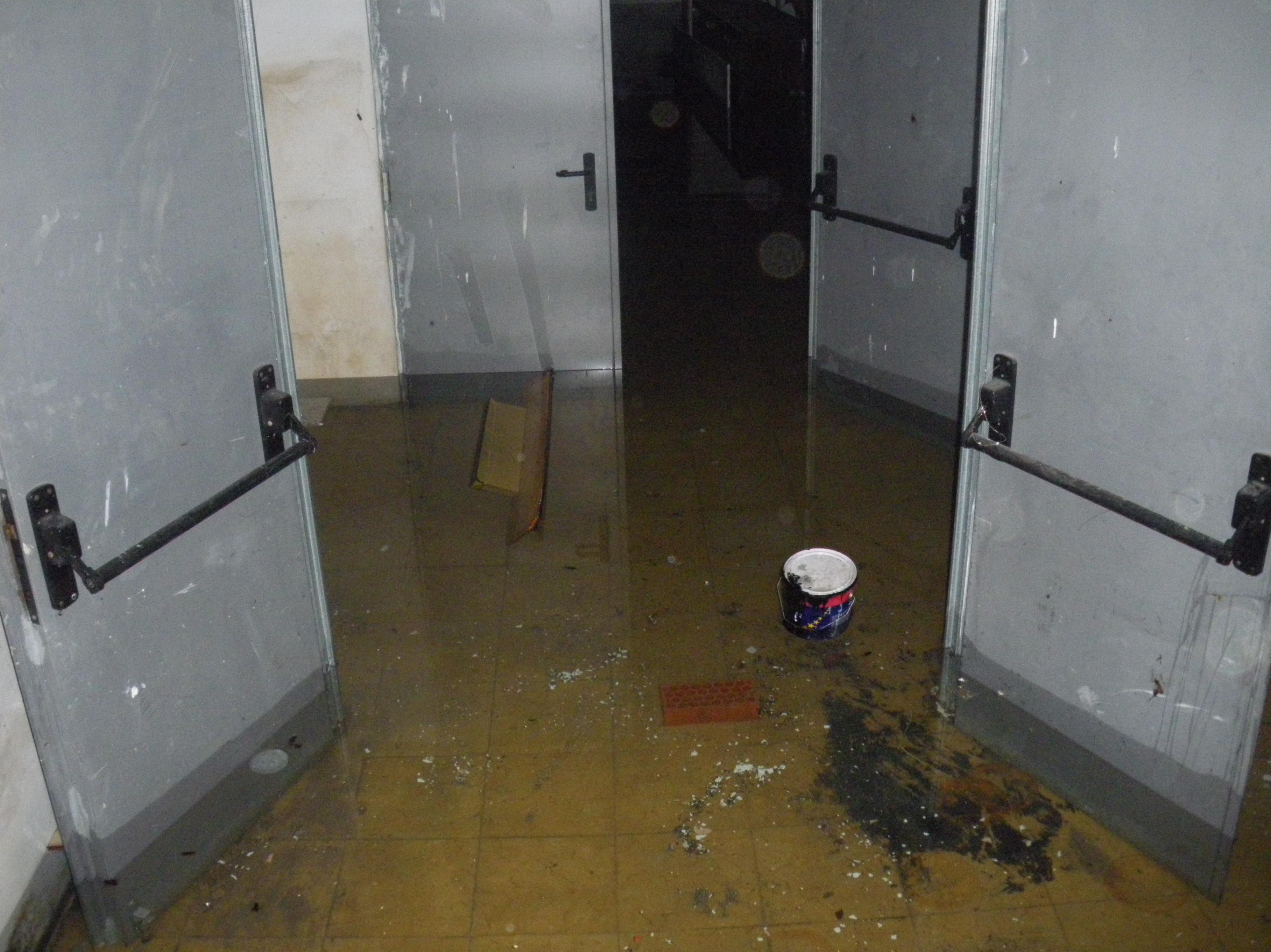 Inundaciones de garajes