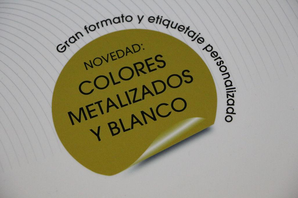 Impresión metalizado Barcelona