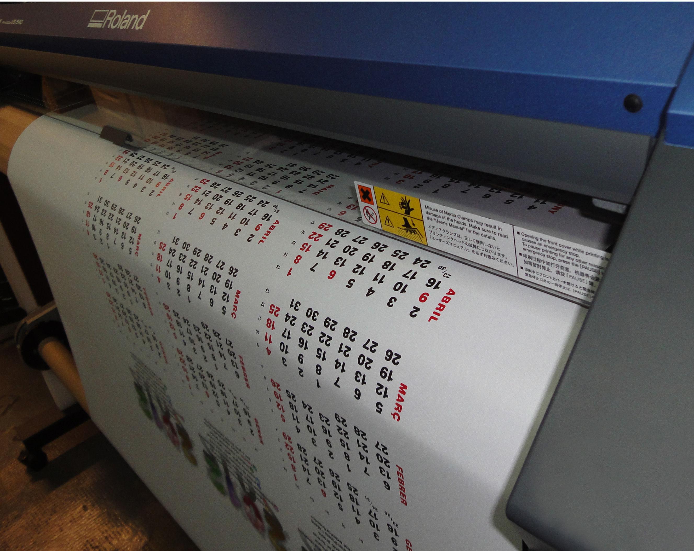 impresión gran formato sobre lona