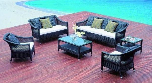 Muebles y decoración textil para exterior