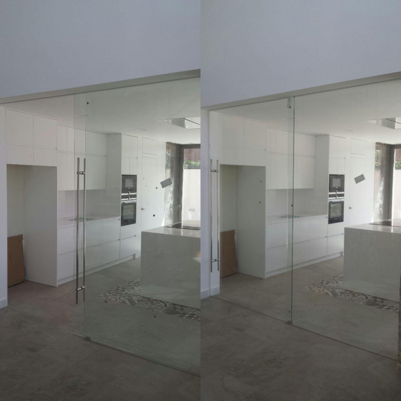 puertas de cristal