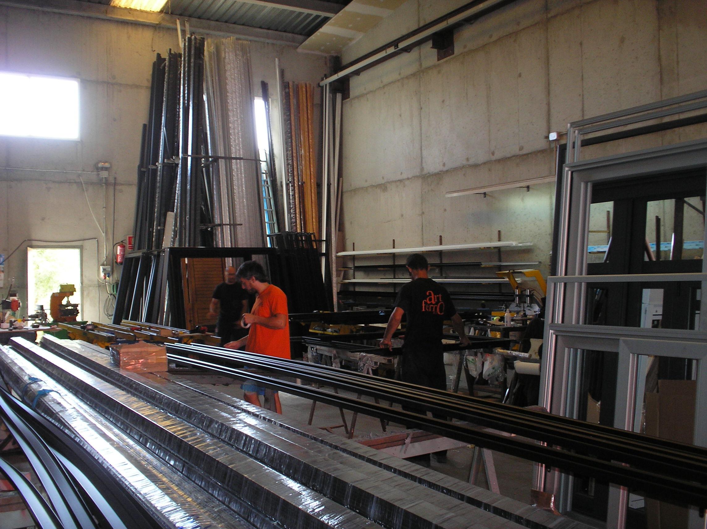 Foto 31 de Carpintería de aluminio, metálica y PVC en Tàrrega | Art Ferro