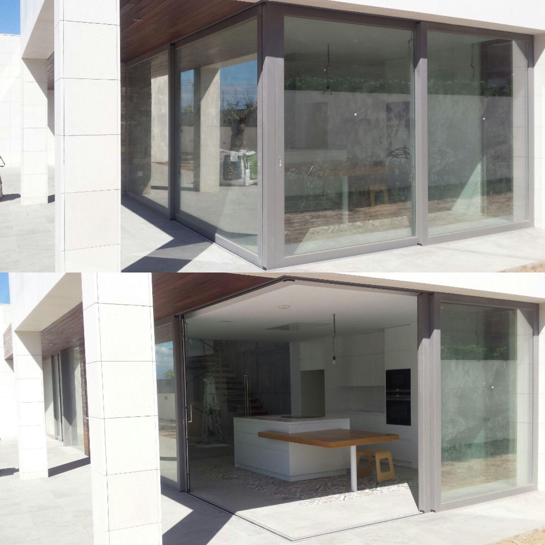 balconeras esquineras aluminio
