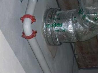 Protección ignífuga de conductos Empresa de Ignifugos Madrid Sella2