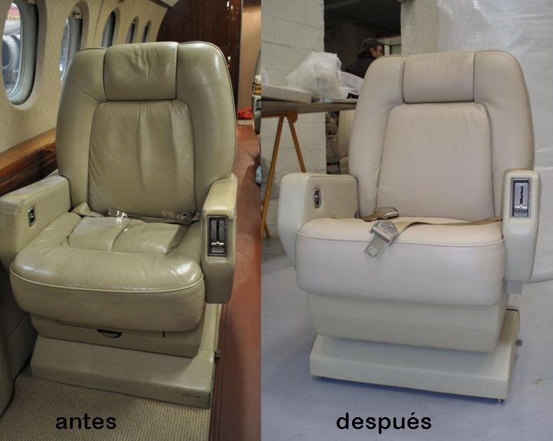 Foto 11 de Mantenimiento del interior de aeronaves en Madrid | AERONÁUTICA GESTIÓN