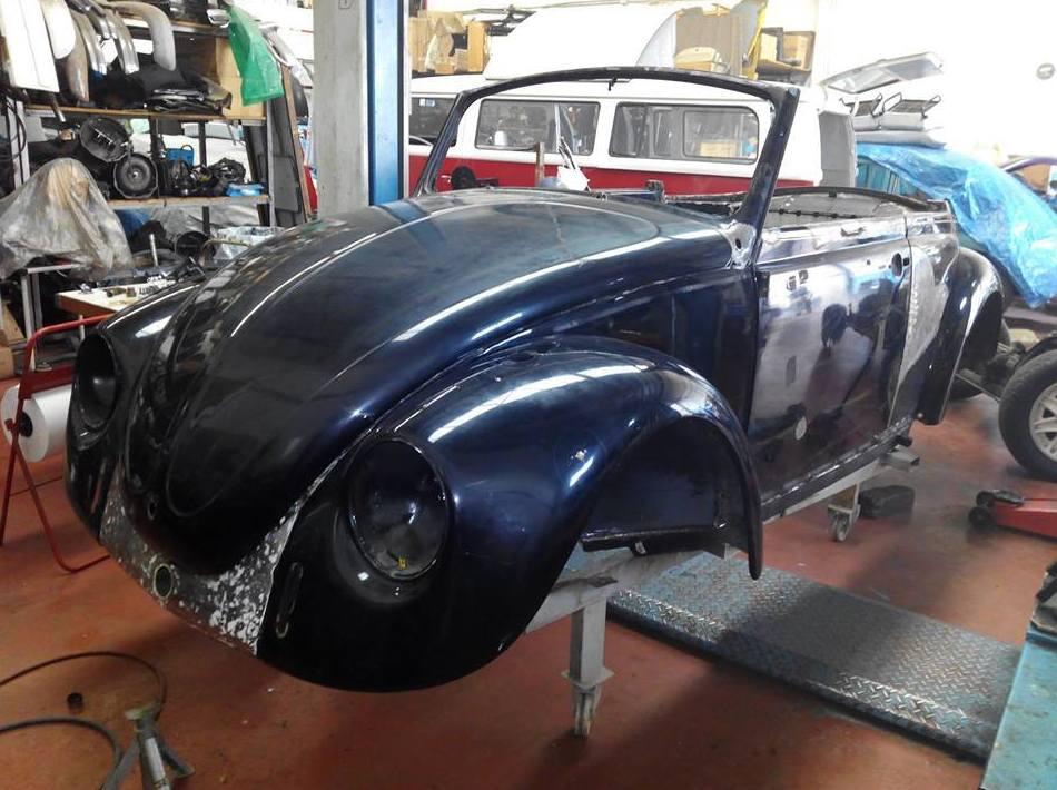 Restauración Cabrio 1300