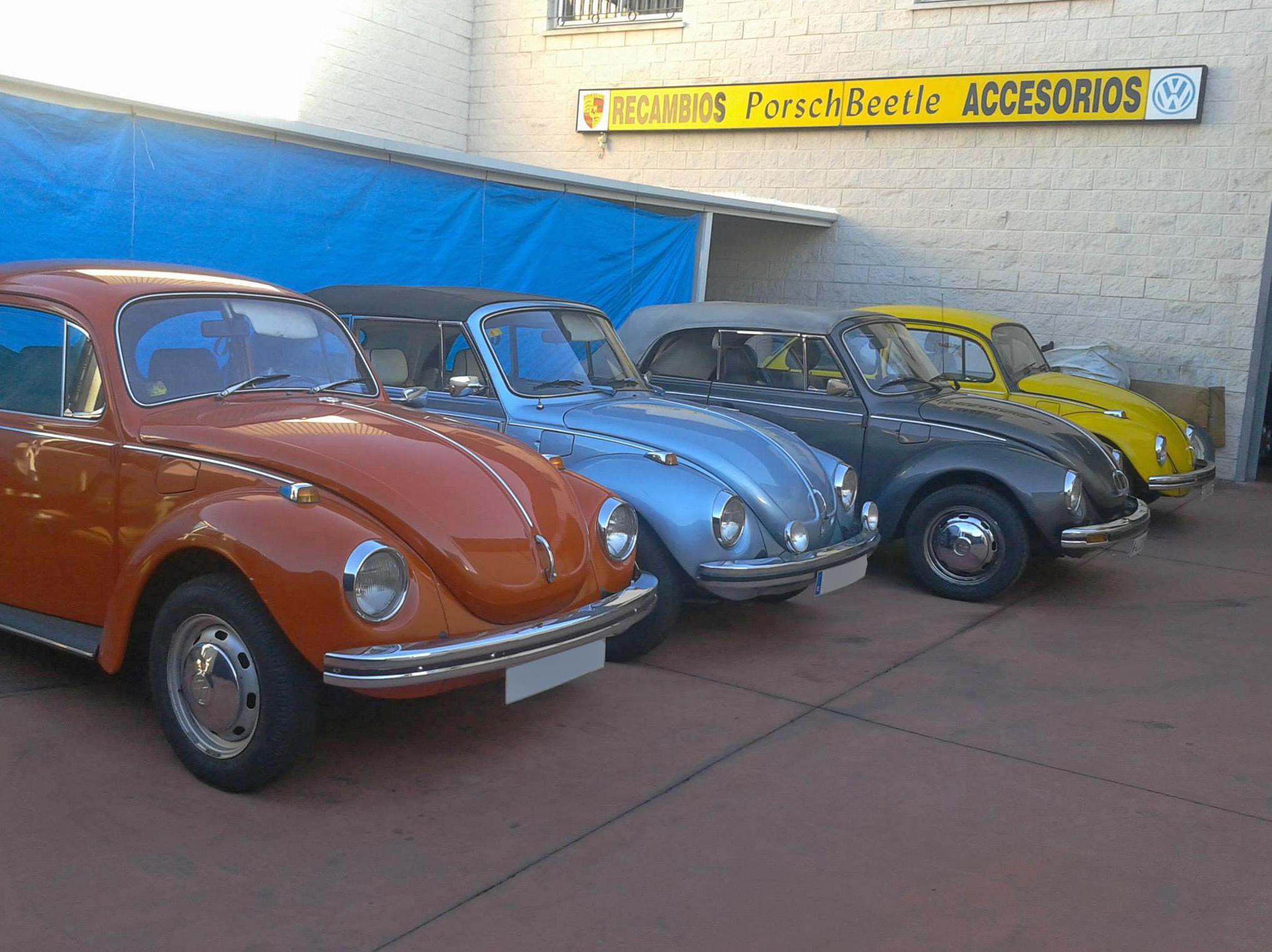Porschebeetle Jarama - Taller especializado en restauración de vehículos clásicos