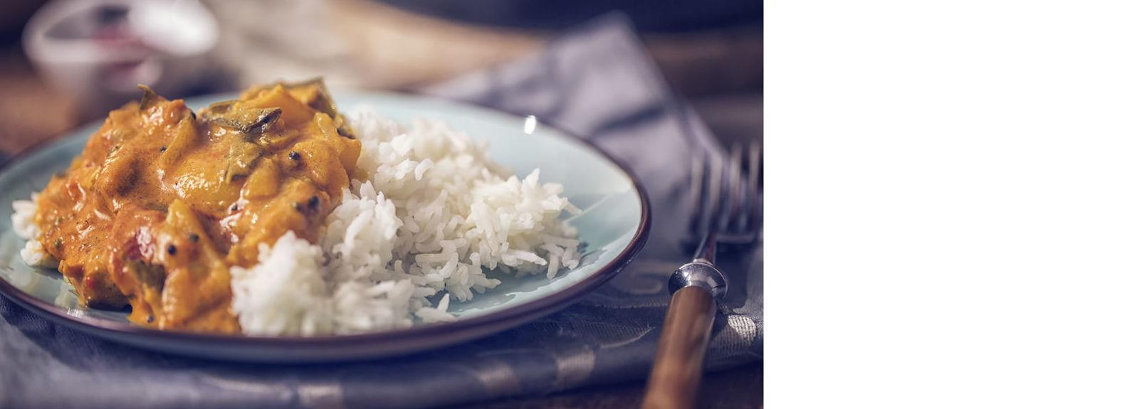 Curry: Carta y Menús de Maisha