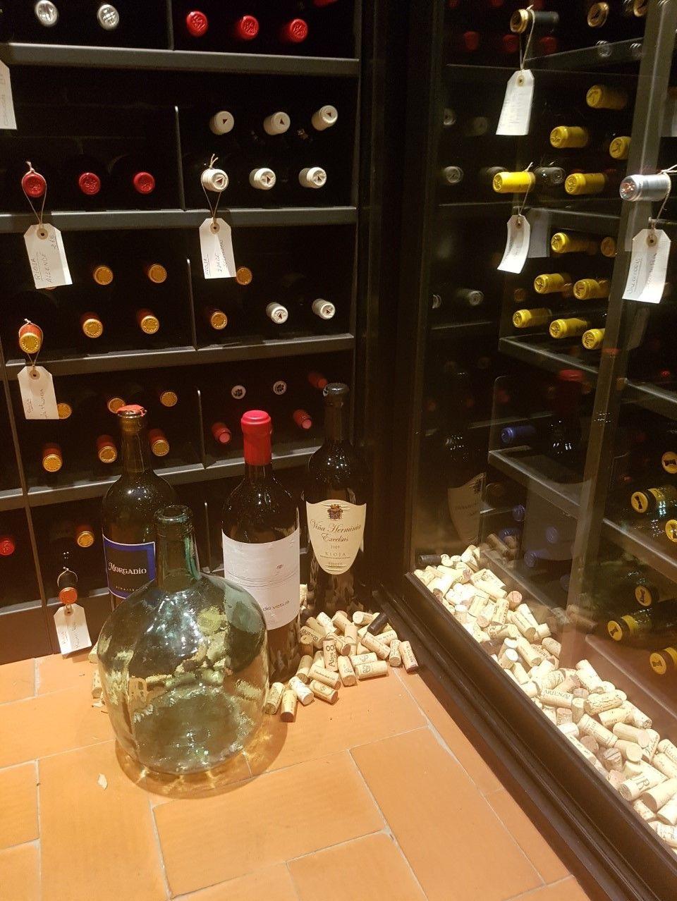 vinoteca de o Lagar da Estrella