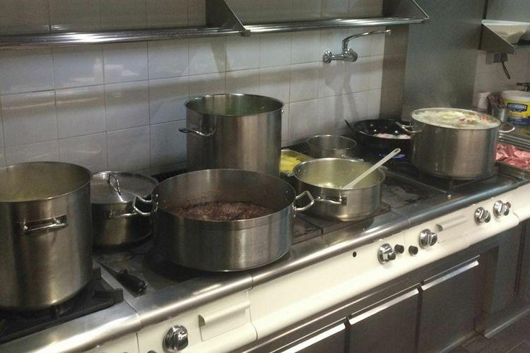 Cocina de nuestro restaurante