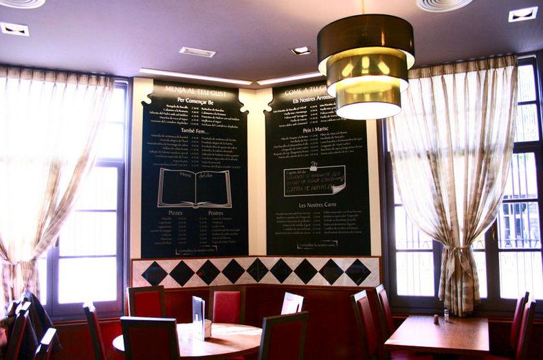 Restaurante para eventos familiares en  Mataró