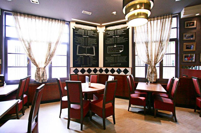 Salones privados para comidas de empresa