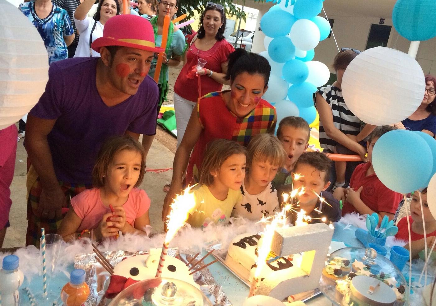 Celebración de eventos y cumpleaños: Nuestros servicios de Gran Piruleto Park