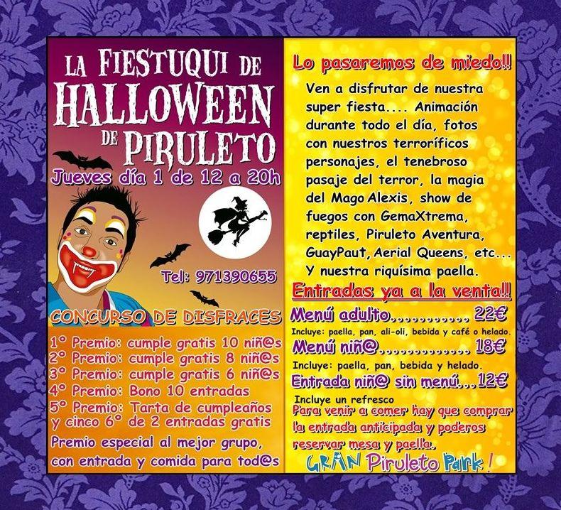 Fiesta de Halloween en Piruleto Park
