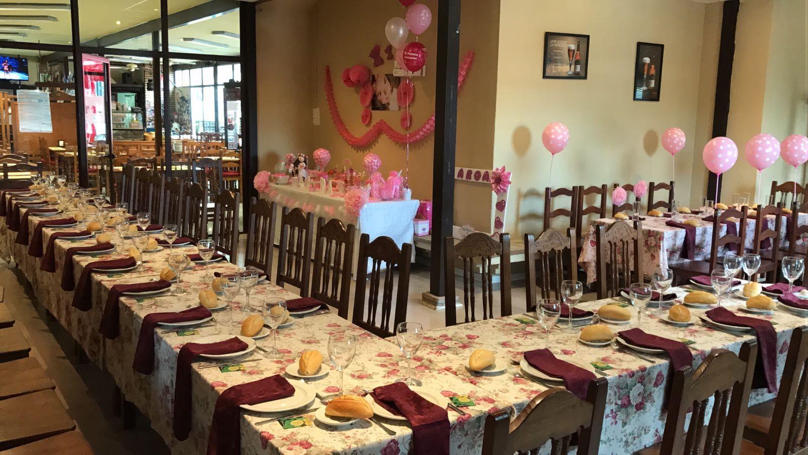 Celebración de todo tipo de eventos en Écija