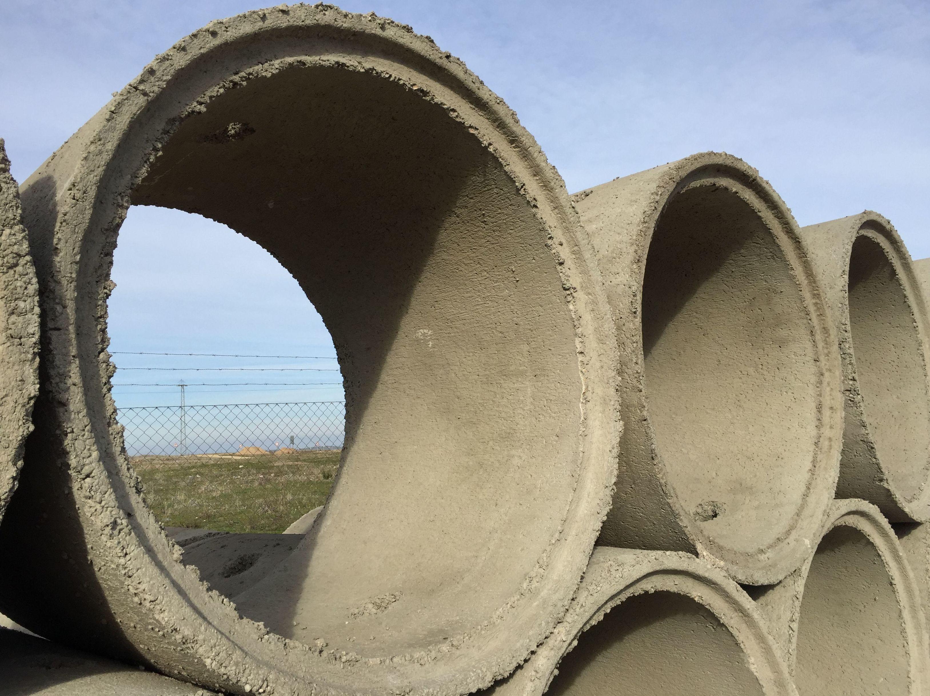 Tuberías de hormigón para desagües y sistemas de conducción