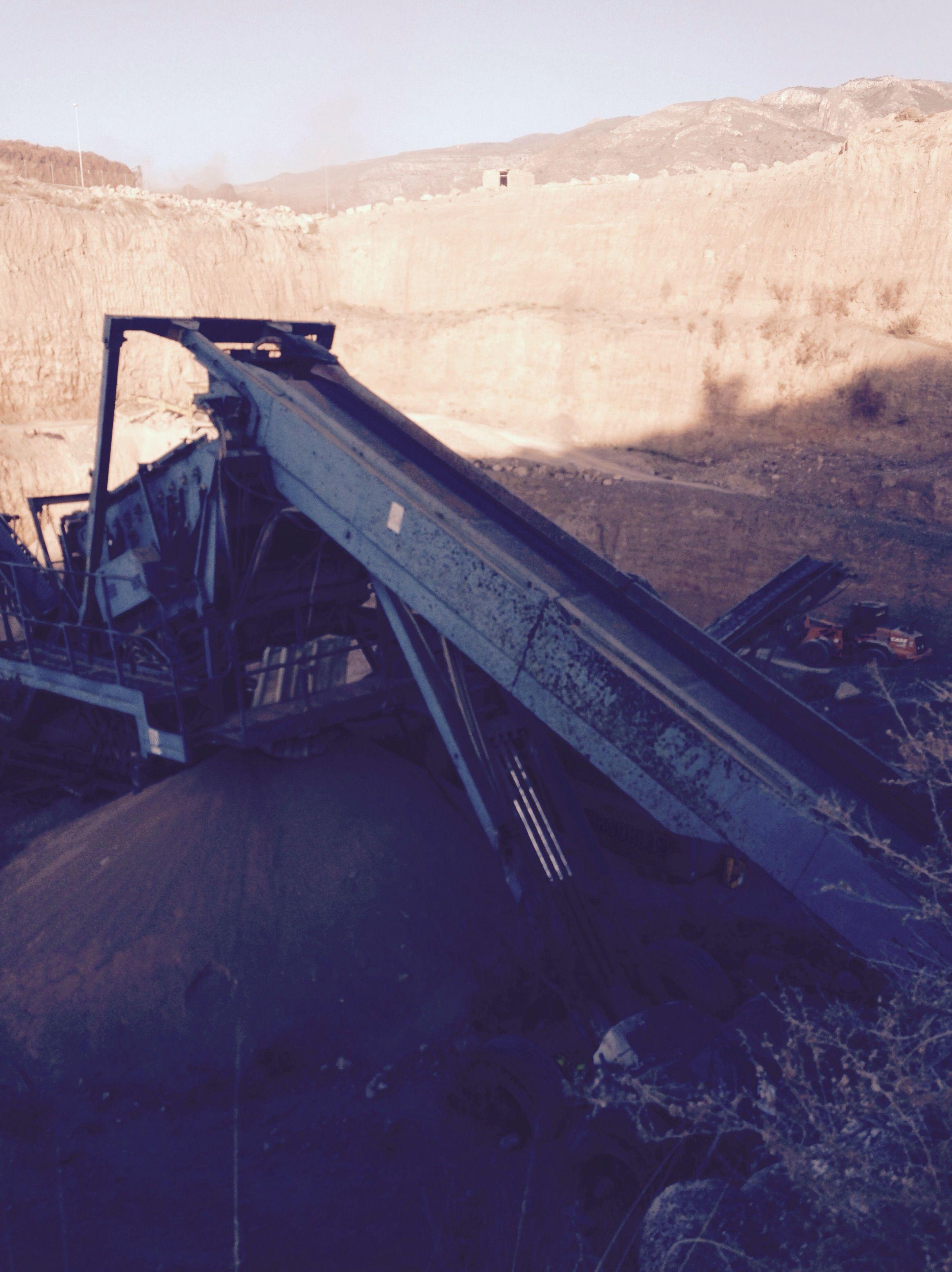 Producción de áridos secos y lavados: Servicios de Adara Excavaciones, Movimiento Tierra y Áridos, S. L.