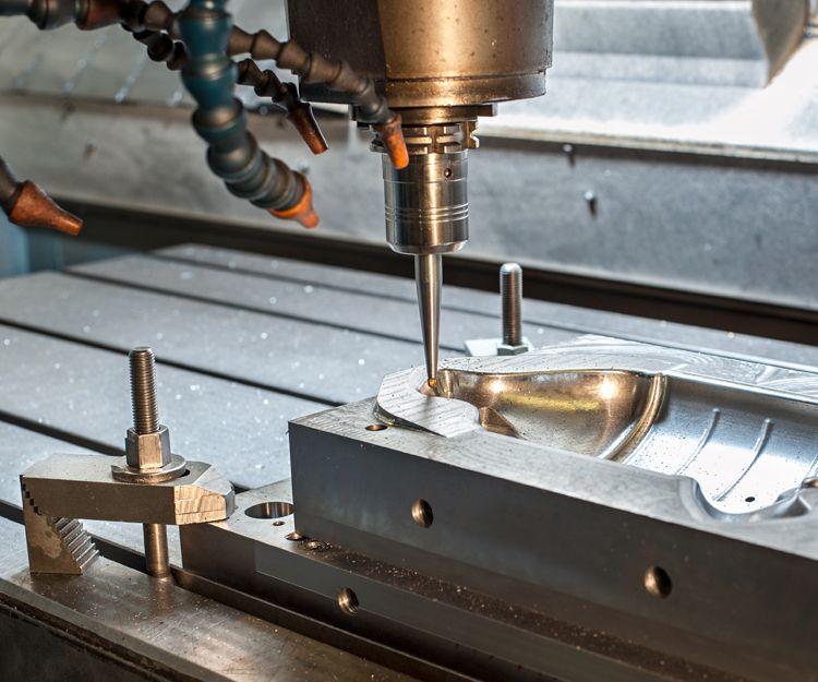 Mecanizado de piezas grandes y medianas