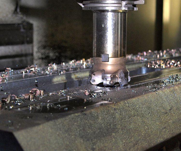 Fábrica de piezas para maquinaria