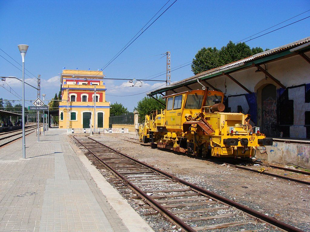 Traslados de maquinarias ferroviarias